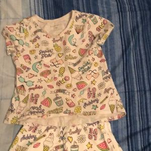 A little girls outfit size 2t